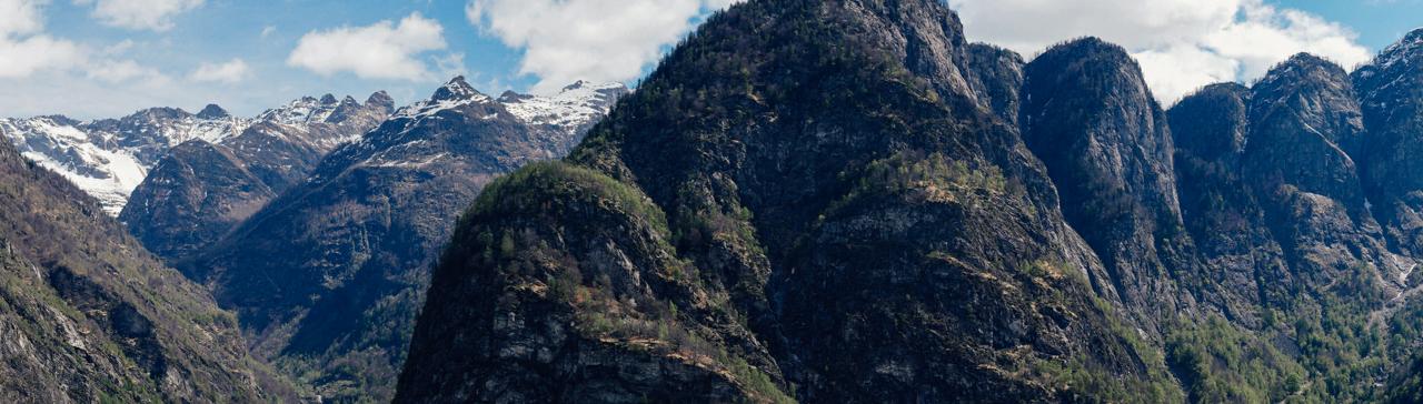 Panoramic view from Monti di Rima