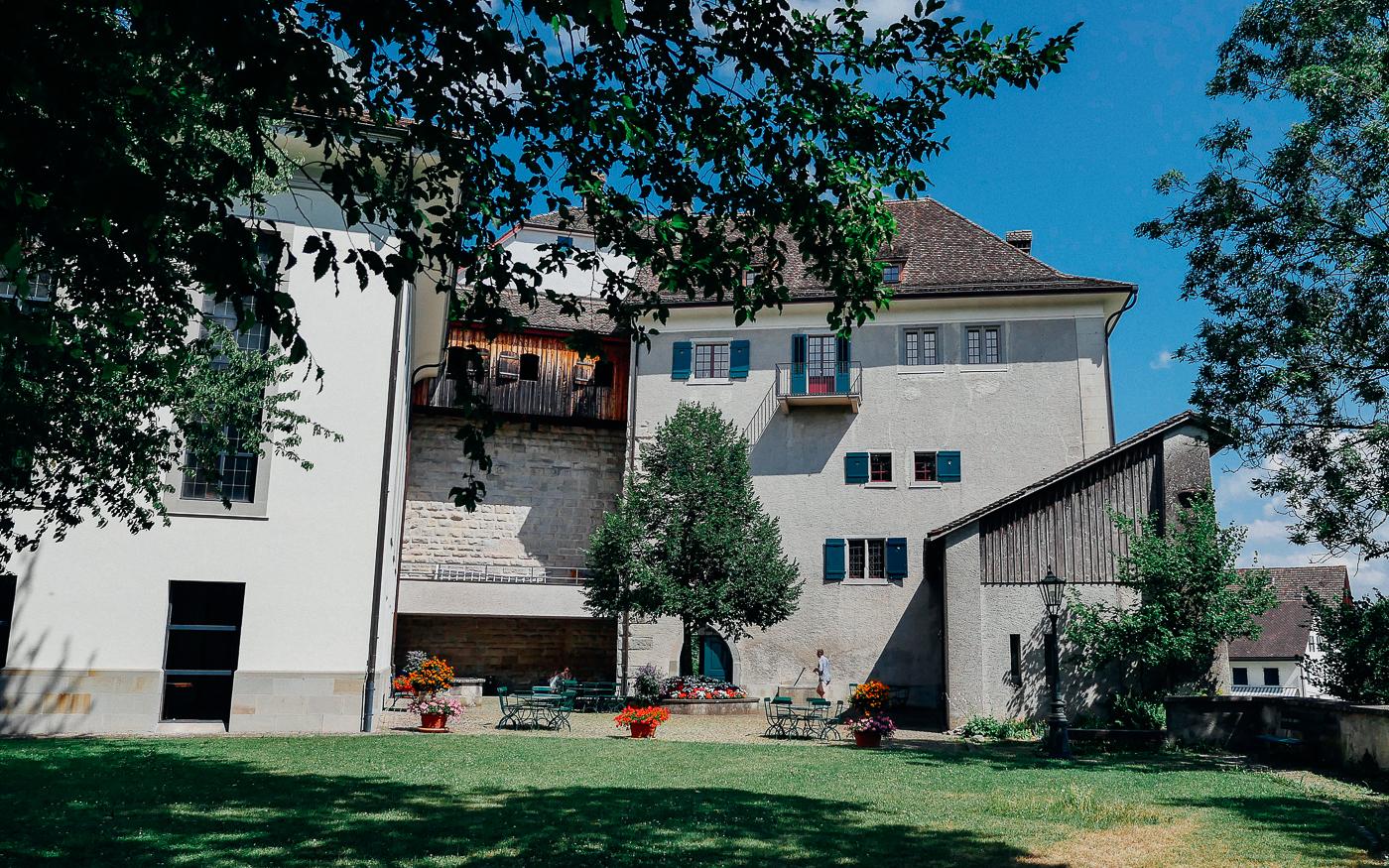 Château de Tourbillon from Basilique de Valère