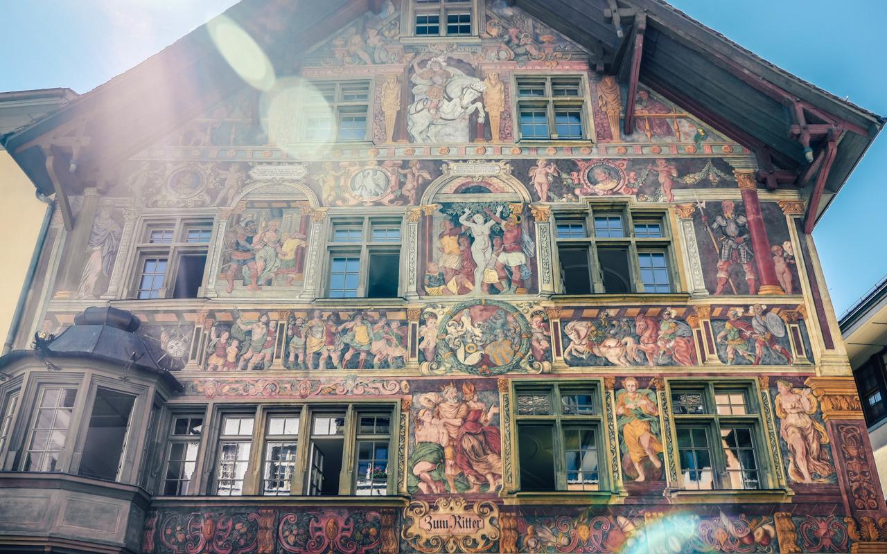 Renaissance: Haus zum Ritter
