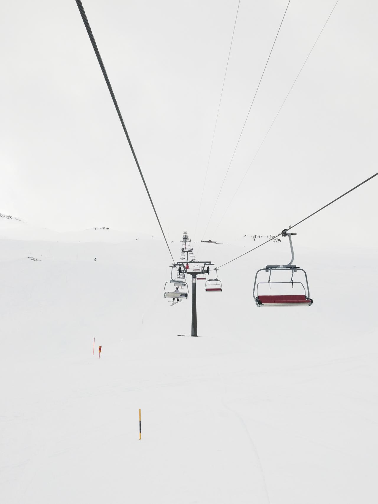 Ski lift at Hoch-Ybrig