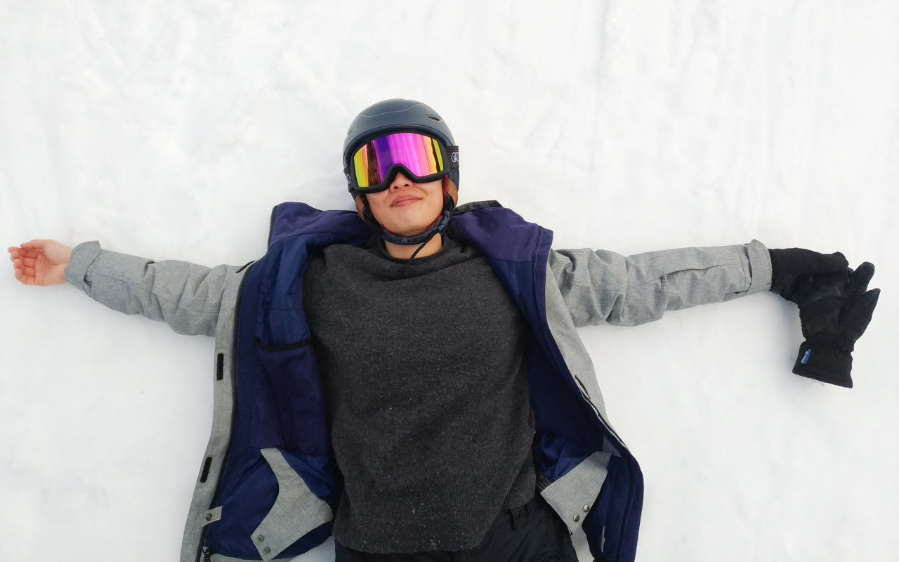 Dead at the end of ski day.